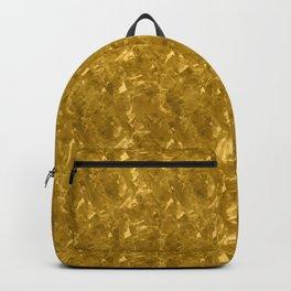 Gold Marble Design Backpack