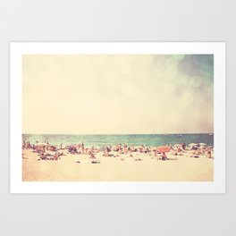 like something out of a beach boys song ...  Art Print