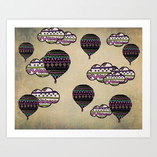 Fly me Away Art Print