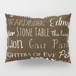 Narnia Celebration - Mocha Pillow Sham