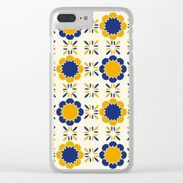 Lisboeta Tile Clear iPhone Case