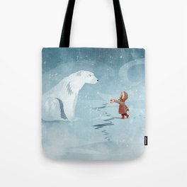 Hooded Stranger Tote Bag