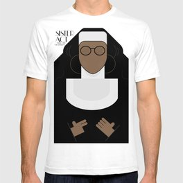 Sister Act, minimal Movie Poster, classic comedy film, funny, Whoopi Golberg, american cinema T-shirt