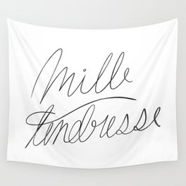 mille tendresse Wall Tapestry