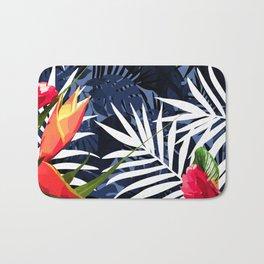 Bold Tropical Paradise Design Bath Mat