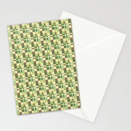 Pistachio Color Pattern 2 Stationery Cards