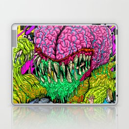 Bulb Brain Critic Destroyer Laptop & iPad Skin