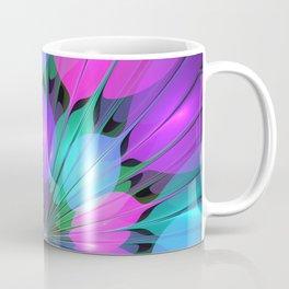 Colorful and Luminous Fractal Coffee Mug