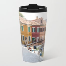 Sunday Morning on Murano Island, Venice, Italy Travel Mug