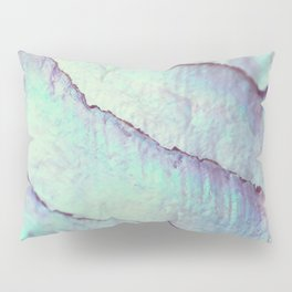 IRIDISCENT SEASHELL MINT by Monika Strigel Pillow Sham