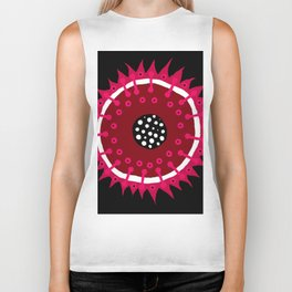 An Abstract Fruit or Something Like That Biker Tank