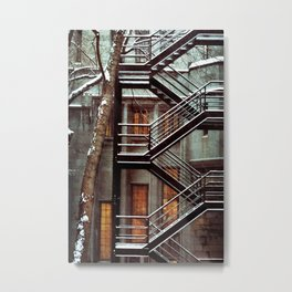 Structure Metal Print