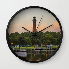 Currituck Lighthouse Wall Clock