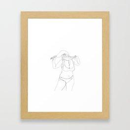 choked Framed Art Print