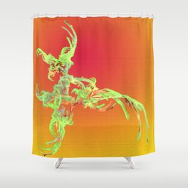 Creature of the Fantasy Shower Curtain