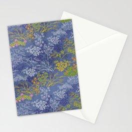 Vintage Japanese floral pattern Stationery Cards