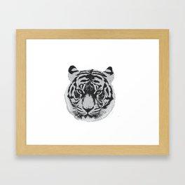 Tigerhead Framed Art Print
