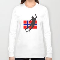 norway Long Sleeve T-shirts featuring Norway - WWC by Alrkeaton