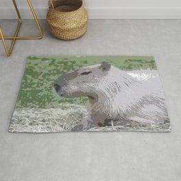 capybara Poster Rug
