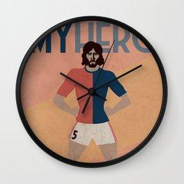 MY HERO - 5 EL TRINCHE - ZEROSTILE FACTORY Wall Clock