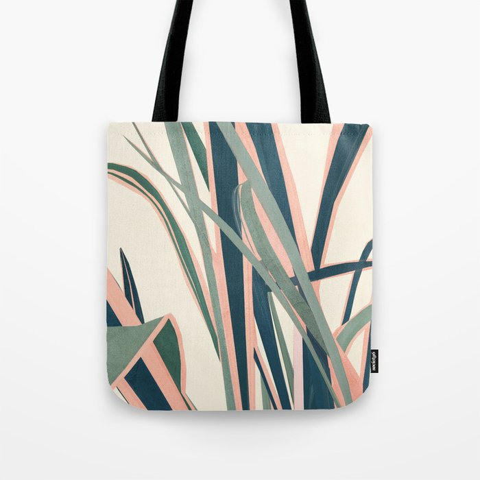 Colorful Plant Tote Bag