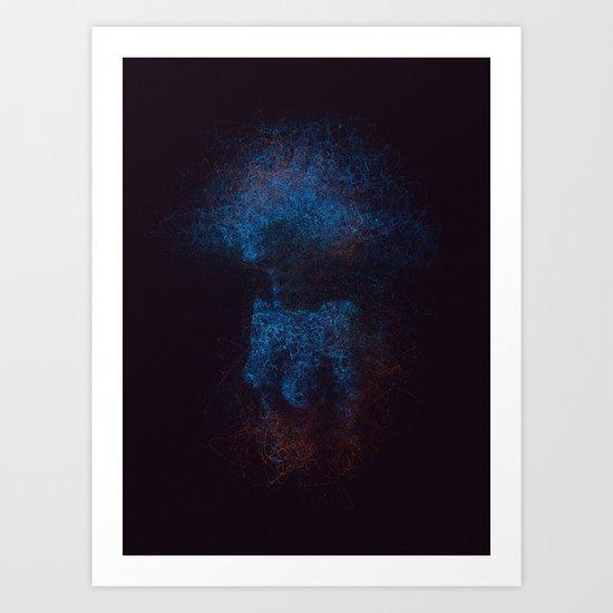 The birth of Paranoia Art Print