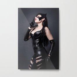 Catwoman Metal Print