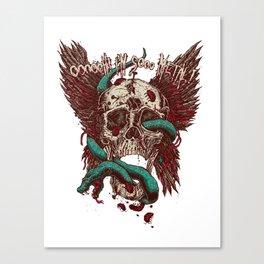 Ooh, I'm so Metal Canvas Print