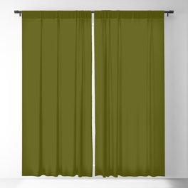 Monochrom 35 dark green Blackout Curtain