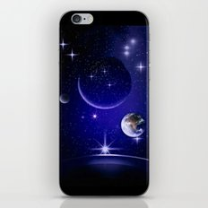 Fantastic yourney into space. iPhone & iPod Skin