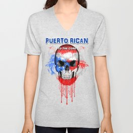 To The Core Collection: Puerto Rico Unisex V-Neck