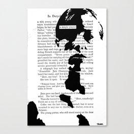 A Simple Prayer Canvas Print