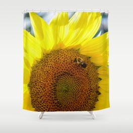 Maria's Sunflower Shower Curtain