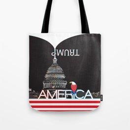 Trump Trumpet Prophetic Political Comic - Night Tote Bag
