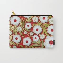 Art Flowers V3 Carry-All Pouch