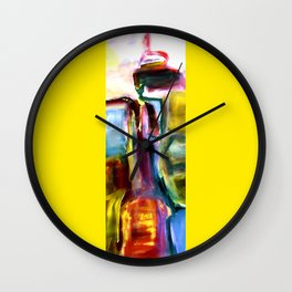 colour obsession no.5 Wall Clock