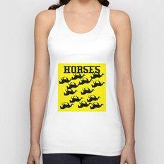 Horse Unisex Tank Top