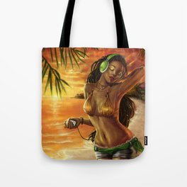 The Sound Of Summer Tote Bag