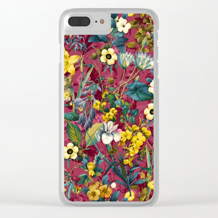 EXOTIC GARDEN VII Clear iPhone Case