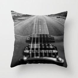 SEMI HOLLOW ROADTRIP Throw Pillow
