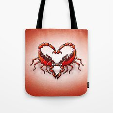 Loving Scorpions Tote Bag