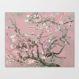 Almond Blossom - Vincent Van Gogh (pink pastel) Canvas Print