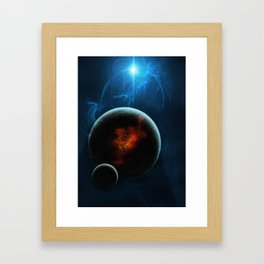 Solar Winds Framed Art Print