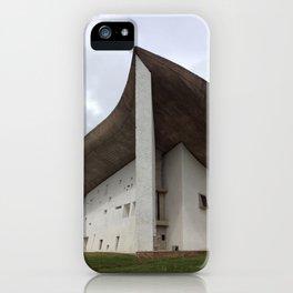 Chapelle Notre-Dame-du-Haut | Le Corbusier iPhone Case