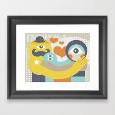 Family. Framed Art Print