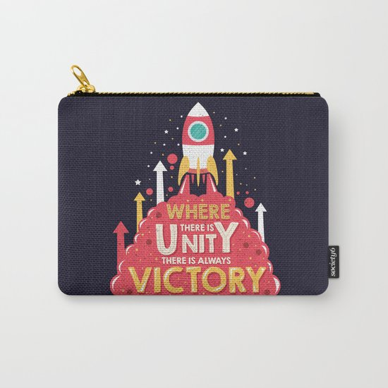 Unity is victory Carry-All Pouch