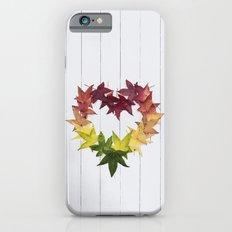 Autumn love iPhone 6s Slim Case