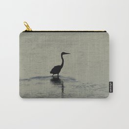 Great Blue Heron in Silhouette Carry-All Pouch