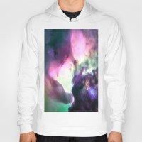 nebula Hoodies featuring Pastel nebULa by 2sweet4words Designs