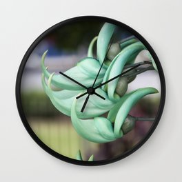 Jade Vine Wall Clock